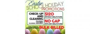 Easter Holiday Promotions!