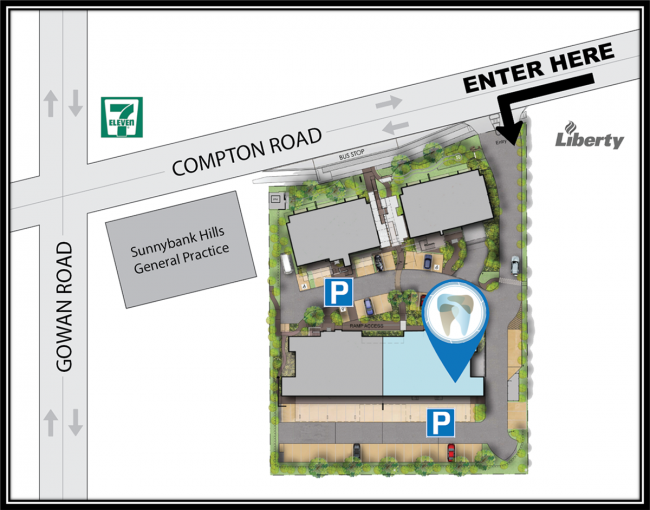 Aperture-Dental-Practice-Sunnybank-Hills-location-map-directions
