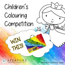Children's colouring competition tooth fairy